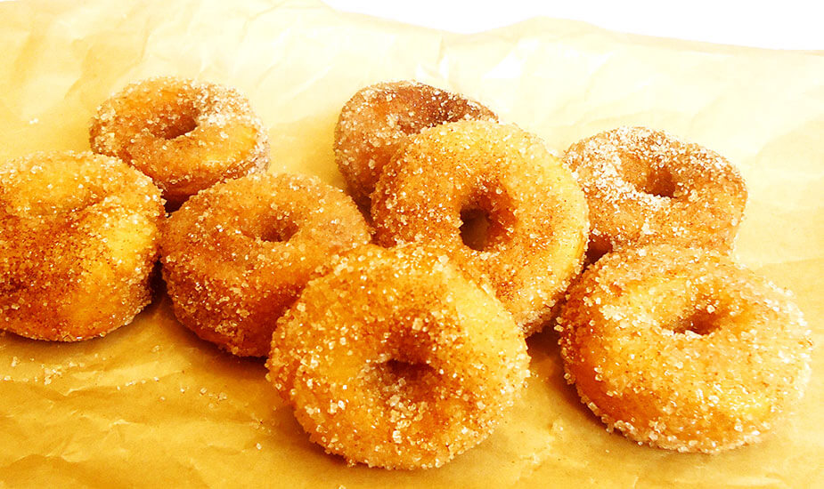Mini donuts s cimetom