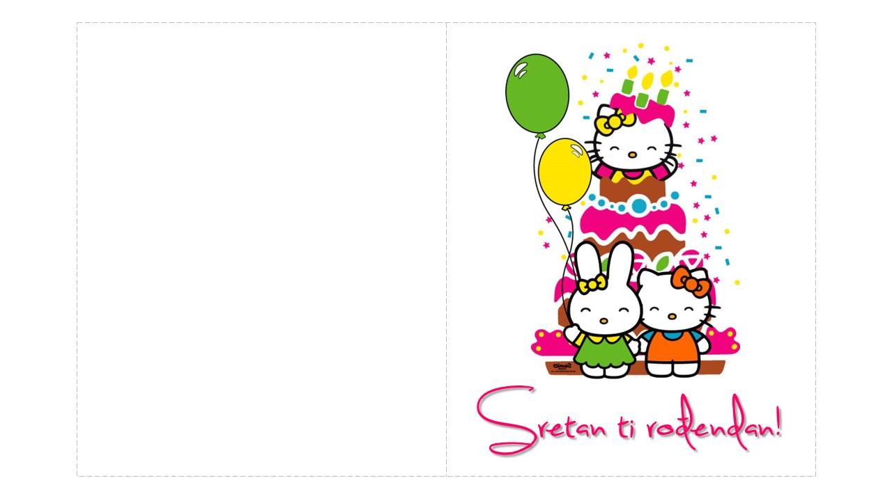 rođendanska čestitka online Rođendanske čestitke za printanje rođendanska čestitka online