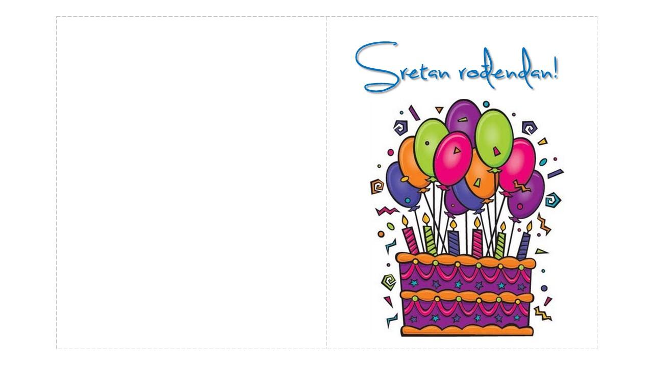 rođendanske čestitke za print Rođendanske čestitke za printanje rođendanske čestitke za print