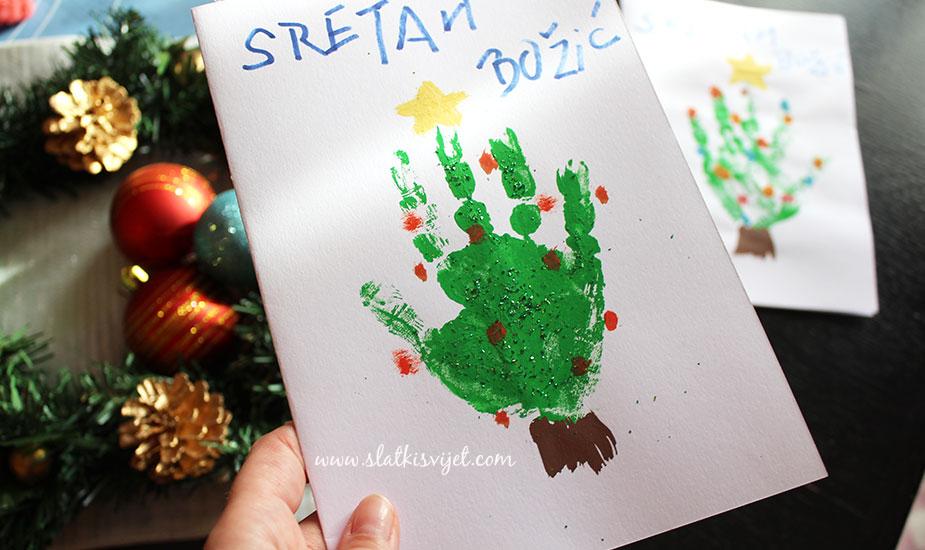 kreativne ideje za božićne čestitke Božićne čestitke od papira kreativne ideje za božićne čestitke
