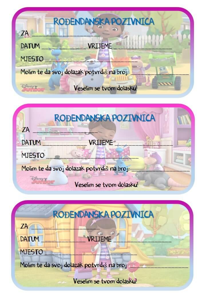pozivnice za rođendan za printanje u boji Rođendanske pozivnice za printanje pozivnice za rođendan za printanje u boji