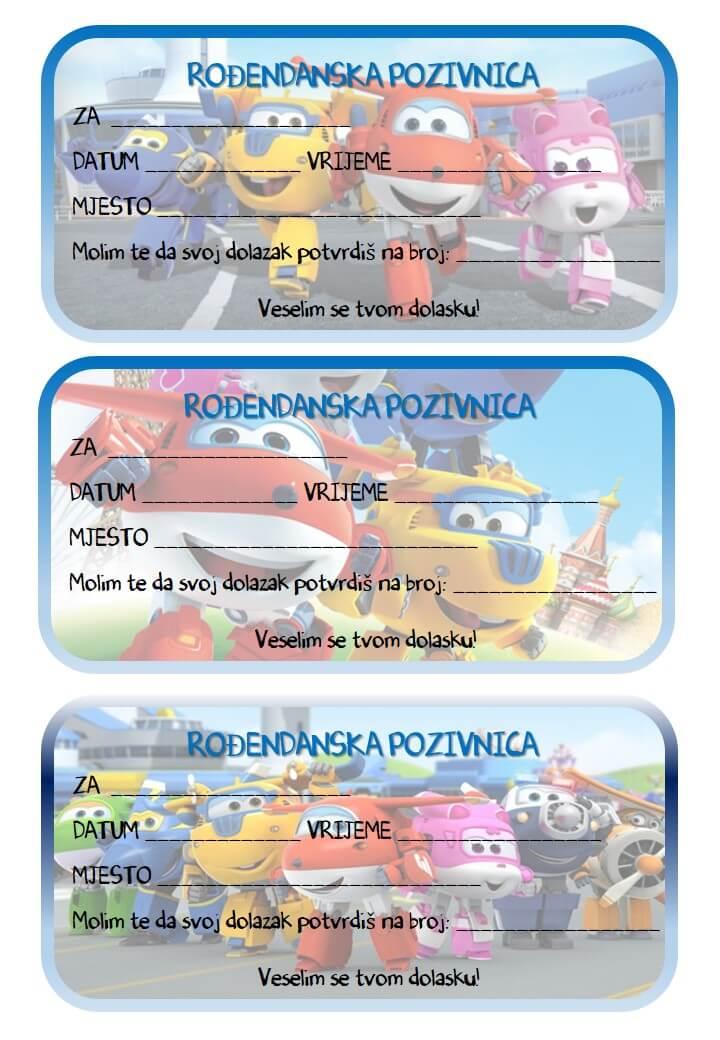 pozivnice za dječji rođendan download Rođendanske pozivnice za printanje pozivnice za dječji rođendan download