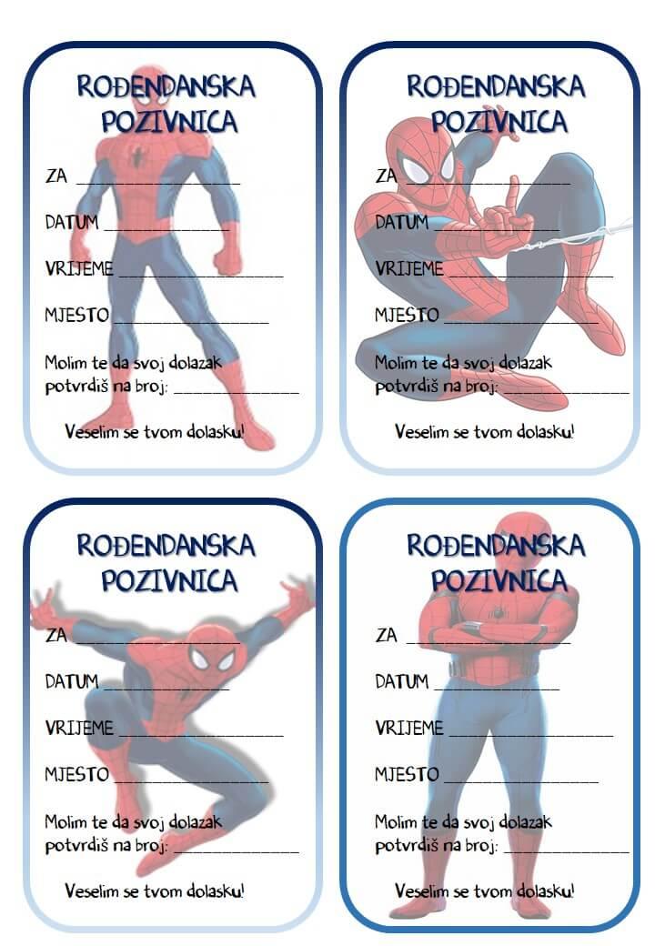 pozivnice za rođendan za dječake Rođendanske pozivnice za printanje pozivnice za rođendan za dječake