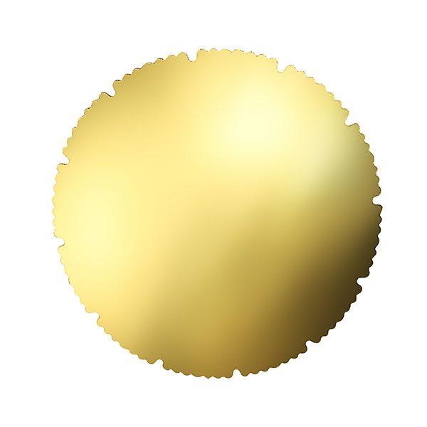 zlatni kartonski podlozak za tort