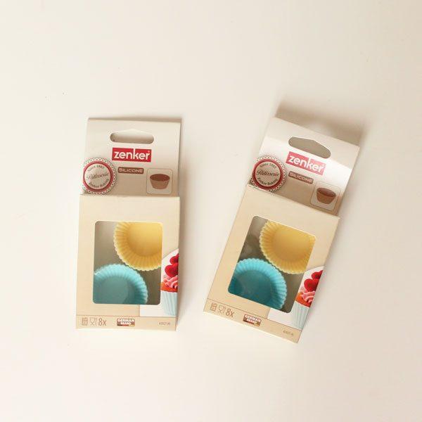 silikonske kosarice za muffine