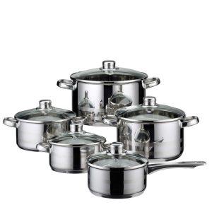 5 djelni set lonaca za kuhanje