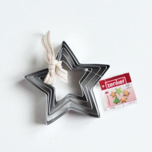 bozicni rezaci za kekse bor zvijezdice