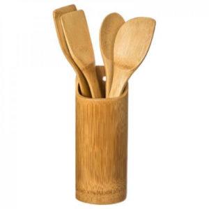 set kuhaca bambus