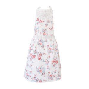pamucna kuhinjska pregaca s cvjetnim motivima isabelle rose