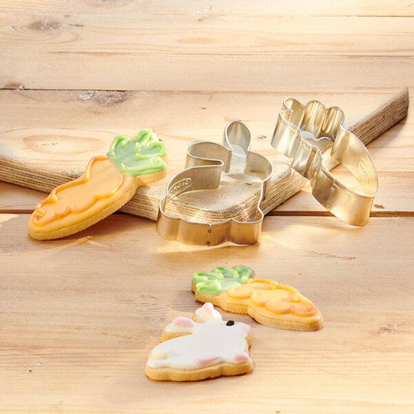 uskrsni rezac za kekse zec mrkva