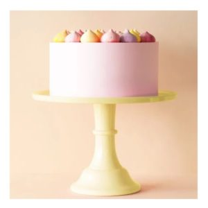 veliki stalak za tortu zuti