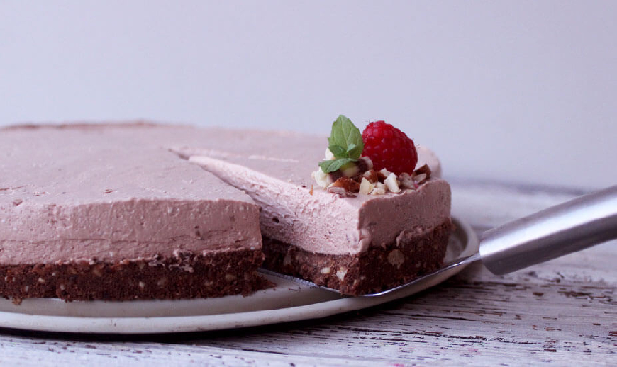 Nutella cheesecake bez pečenja